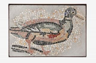 Naturstein-Bild Ente