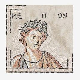 Naturstein-Bild Römisches Mosaik